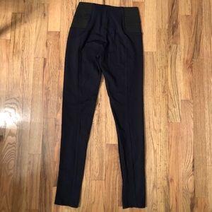 Zara navy blue leggings high waist S